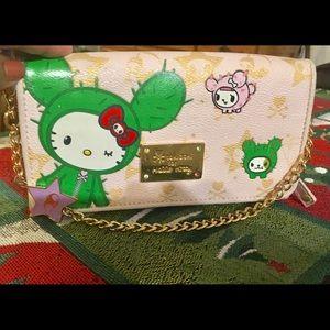 Tokidoki Hello Kitty Cactus Wallet
